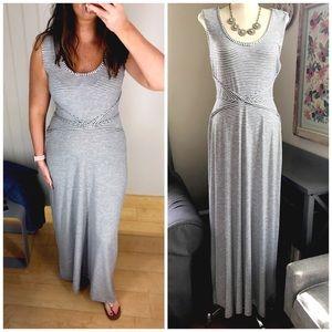 🆕 Listing! Max Studio Striped Maxi Dress